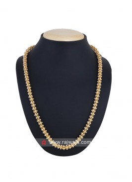 Party Wear Golden Necklace