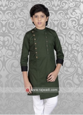 Party wear Green Kurta