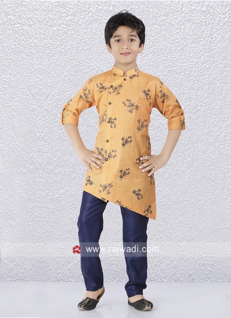Party Wear Kurta Set For Kids