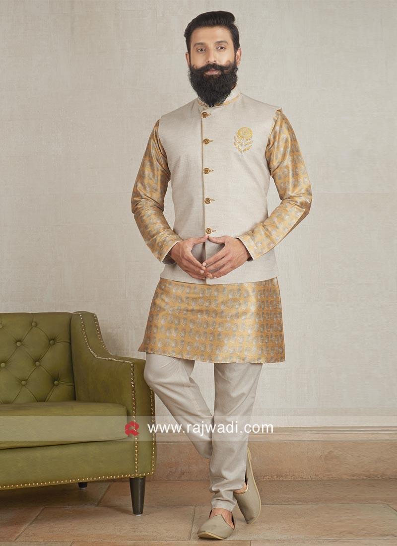 Party Wear Nehru Jacket