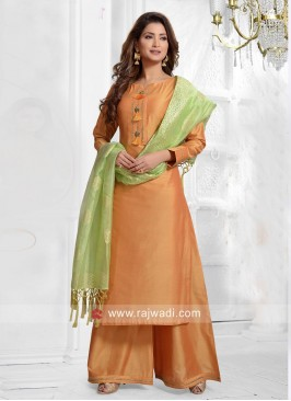 Party Wear Palazzo Salwar Kameez