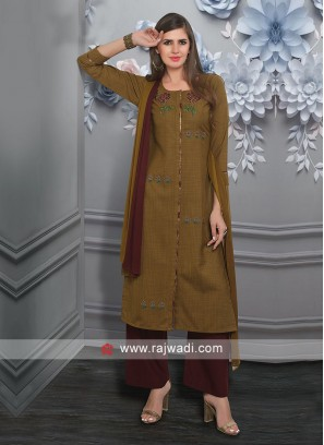 Party Wear Palazzo Salwar Suit