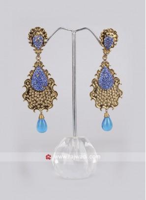 Party Wear Pearl Drop Earrings