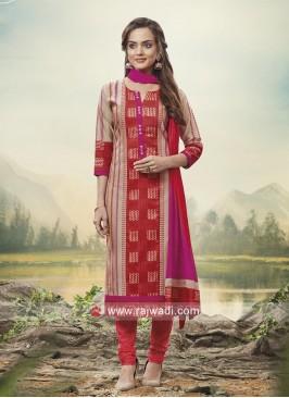 Party Wear Printed Salwar Kameez