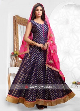 Party Wear Ready Made Anarkali Dress