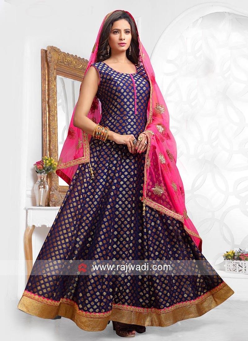 Party Wear Ready Made Anarkali Dress