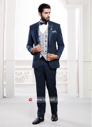 Party Wear Suit For Mens
