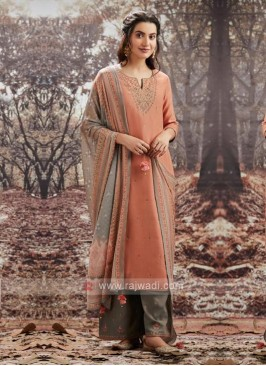Pashmina Fabric Dress Material