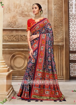 Patola Style Designer Saree