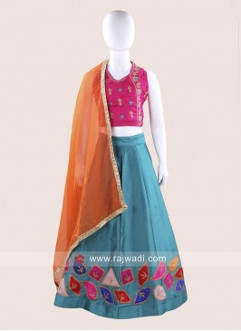 Patch Work Girls Chaniya Choli