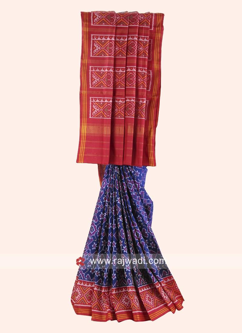 Patola Print Wedding Saree