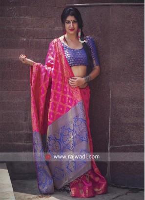 Patola Silk Saree with Tassels