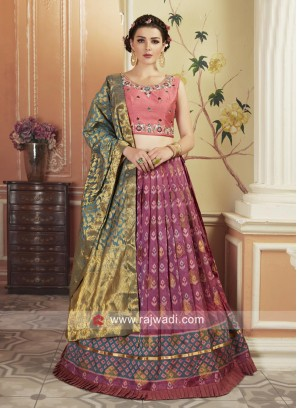 Patola Silk Traditional Lehenga Set