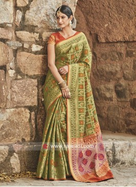 Patola Silk Traditional Saree