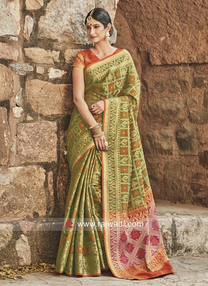 Patola Silk Traditional Saree