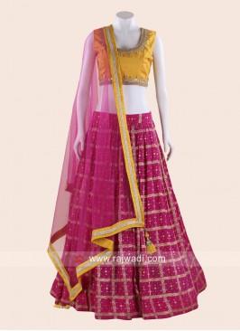 Patola Silk Wedding Lehenga Choli