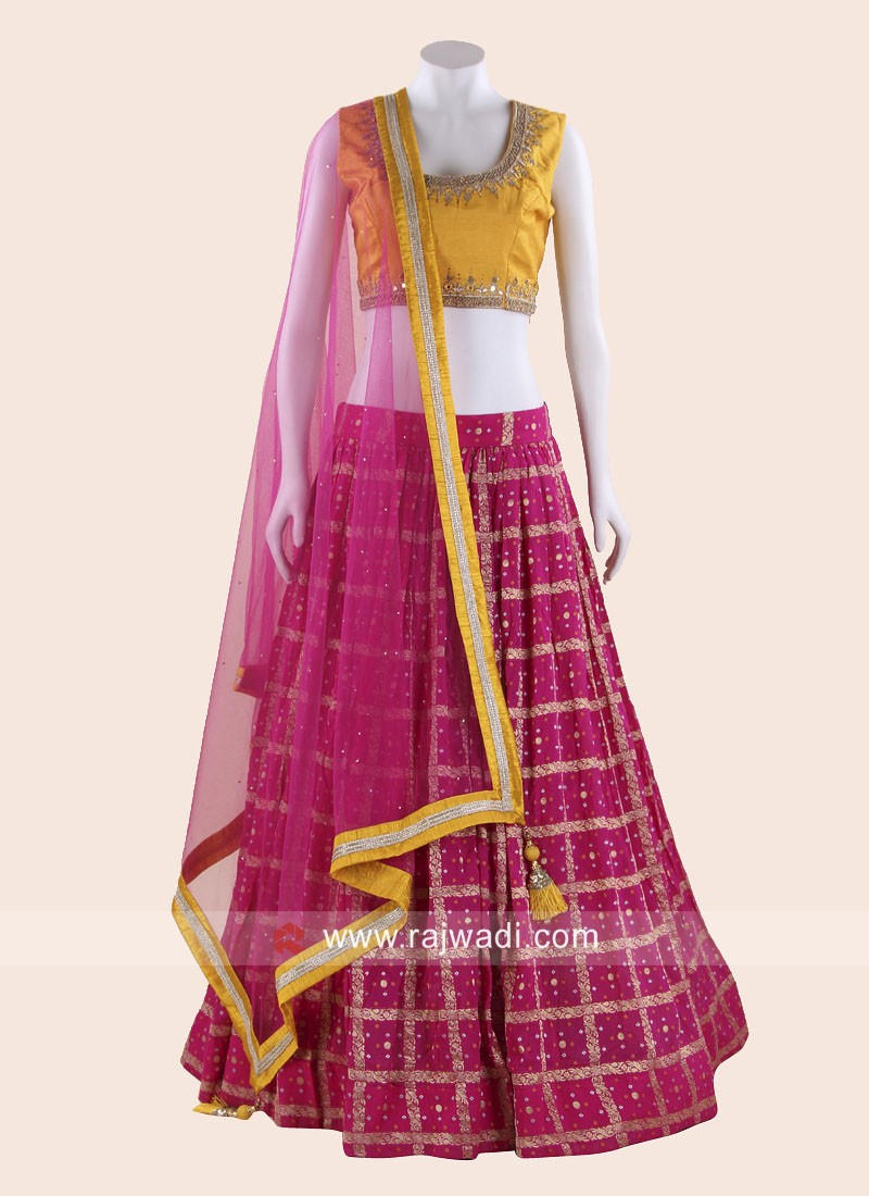 Patola Silk Wedding Lehenga Choli