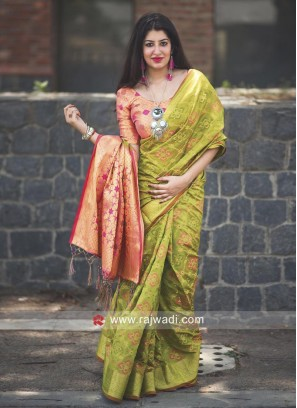 Patola Silk Wedding Saree