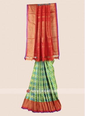 Patola Wedding Saree in Pure Silk