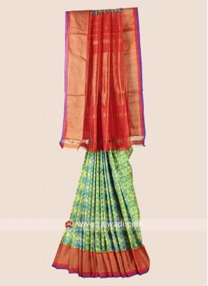 Patola Wedding Saree in Pure Silk