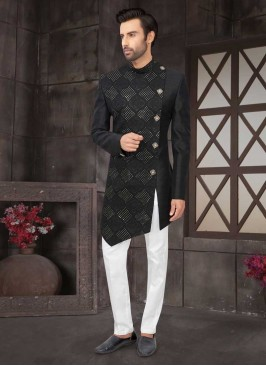 Stylish Indo-Western In Black Color