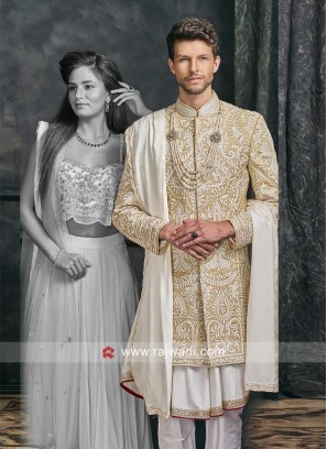 Designer Sherwani  For Mens