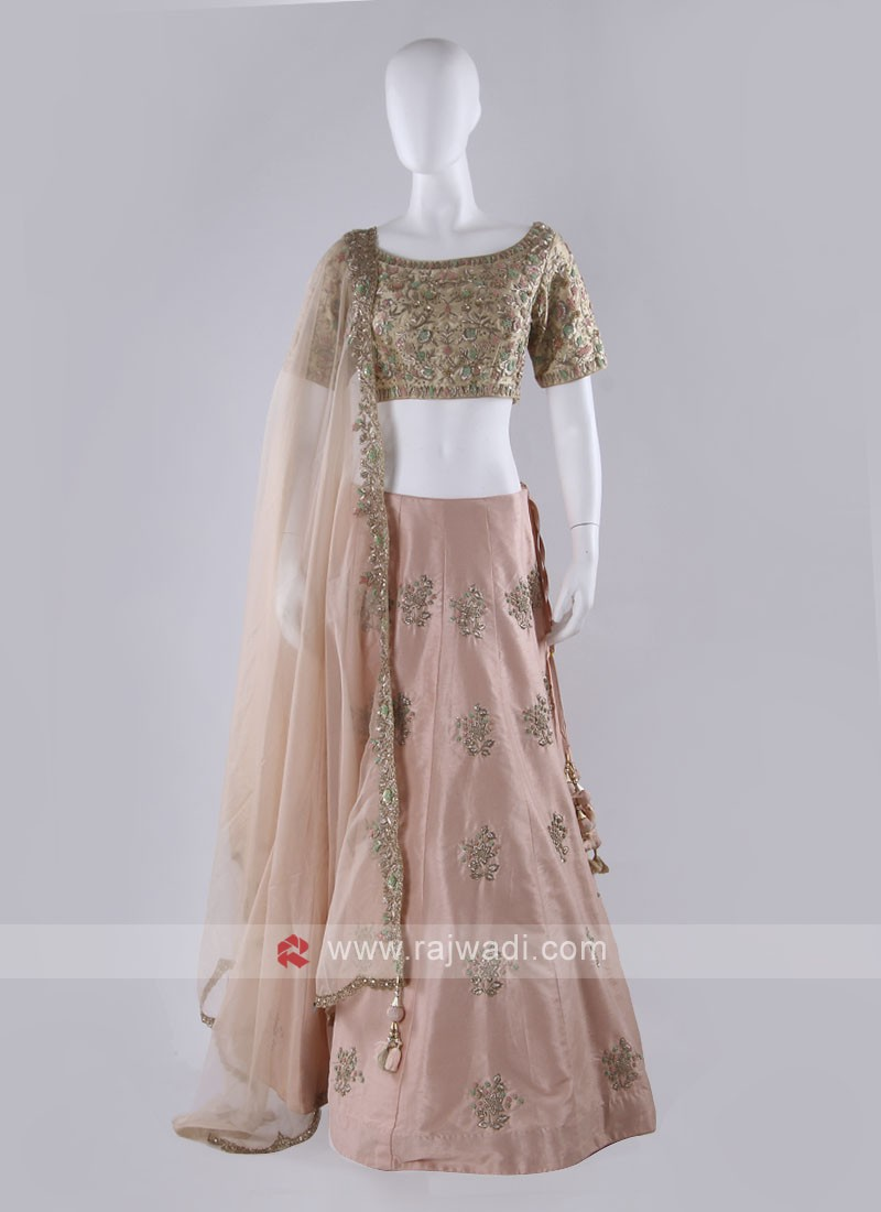 Peach Color Lehenga Choli