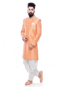 Peach Color Patiala Suit