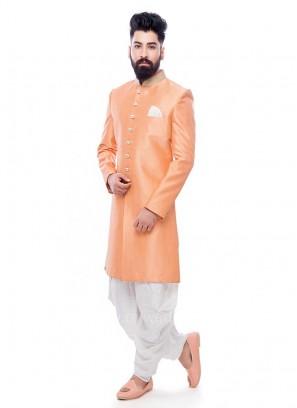Peach Color Patiala Suit