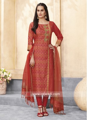 Pearl and Stone Work Salwar Kameez
