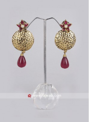 Pearl Drop Designer Earrings