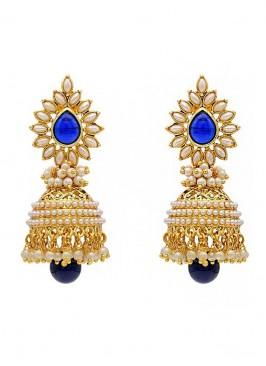 Pearl Glorious  Royal Jhumki Earrings