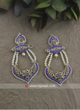 Pearl Work Designer Earrings