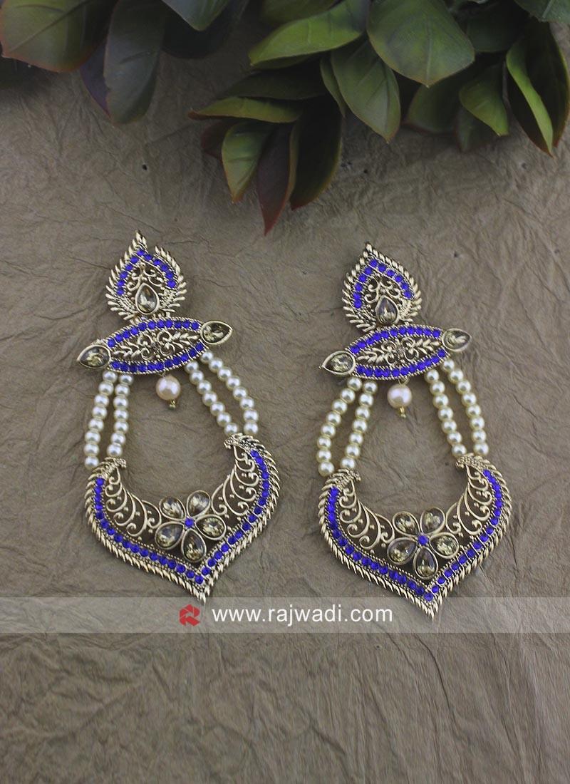 Pearl Work Designer Earrings