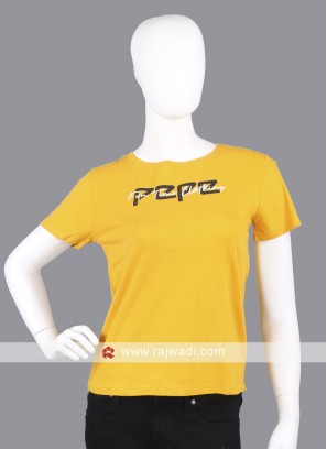 Pepe Mustard Yellow T-Shirt