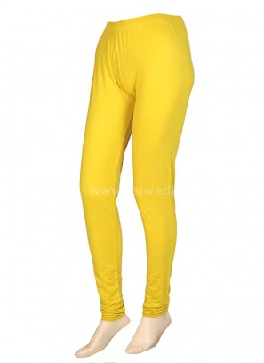 Perfect Light Yellow Leggings