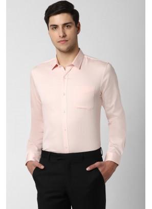 Peter England Peach Shirt