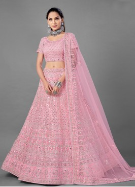 Pink Color Lehenga Choli
