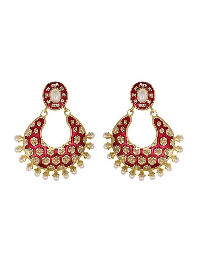 Pink Designer Earring