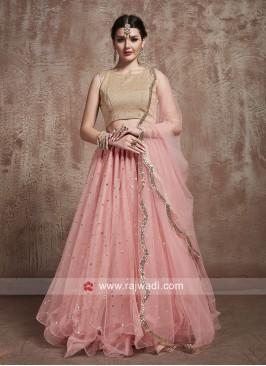 Pink Lehenga Choli with Dupatta