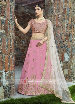 Pink Lehenga Set with Dupatta