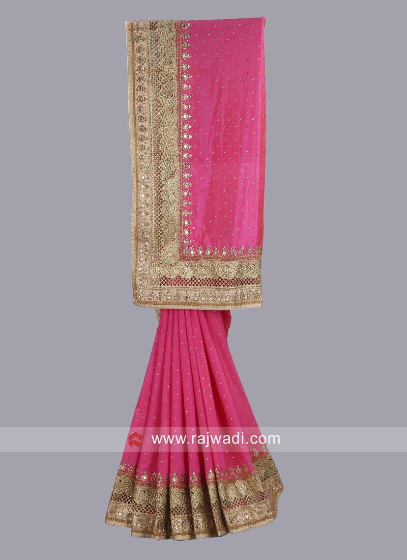 Pink Saree Online Shopping