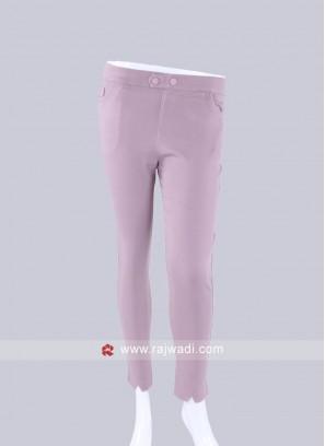 Pink Slim Fit Jeggings