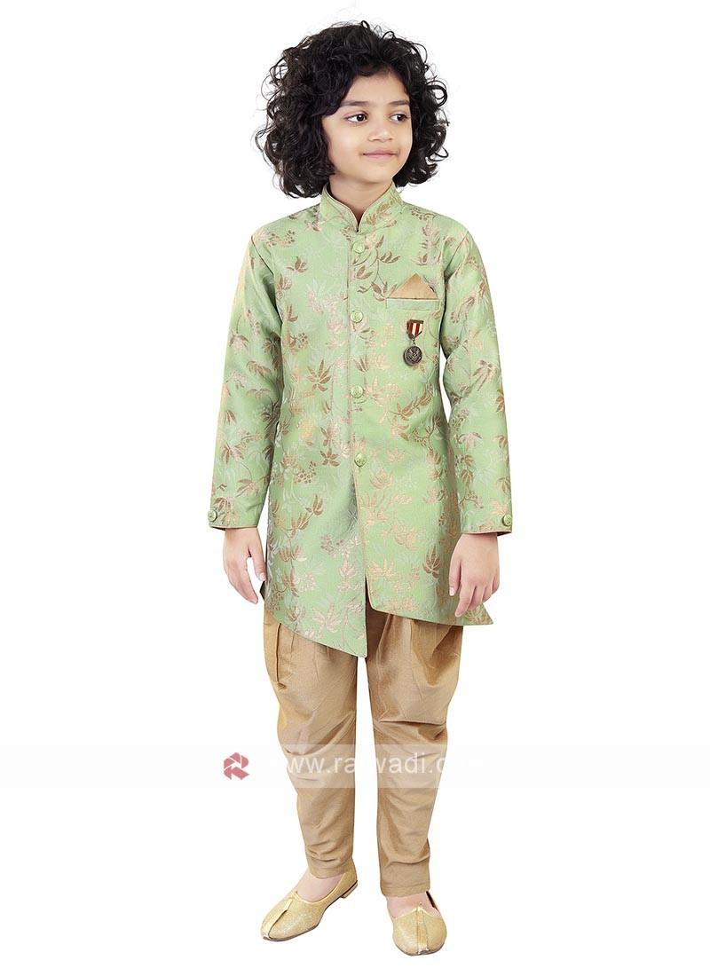Pista Color Indo Western For Boys