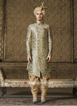 Pista Green Color Wedding Indo Westren