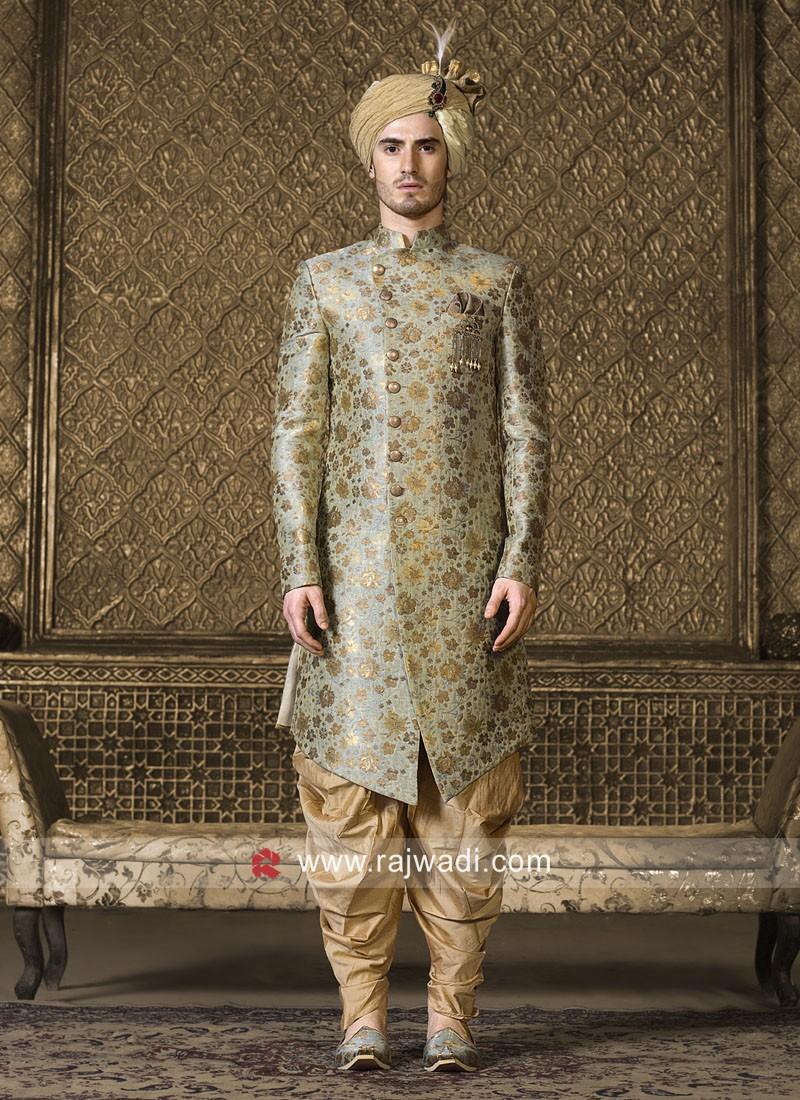 Pista Green Color Wedding Indo Westren