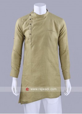Pista Green Long Sleeve Kurta