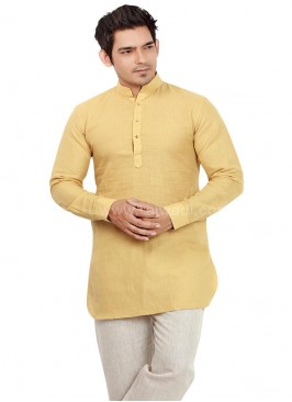 Pleasant Linen fabric Pathani Suit