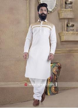 Pleasant Linen fabric Pathani Suit for Men