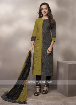 Printed Casual Salwar Suit
